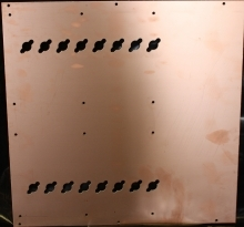 16 Pill Copper Circuit Board - Product Image