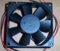 80mm X 80mm X 25mm DC Fan - Product Image