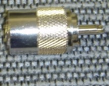 PL-259 to Mini Size Coax Adapptor - Product Image