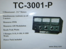 Dosey TC-3001-P 3-Way Meter - Product Image